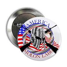 """Molon Labe America 2nd Amendment 2.25"""" Button"""