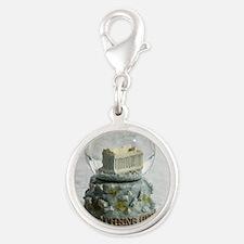 78818538 Silver Round Charm