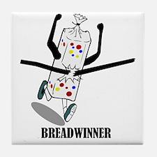 Breadwinner Tile Coaster