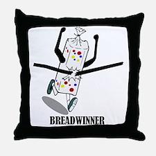 Breadwinner Throw Pillow