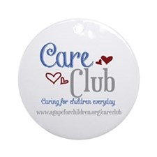 Care Club Collection Ornament (Round)