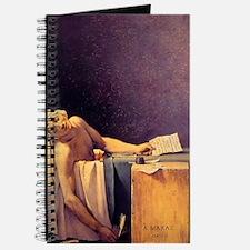 Jacques-Louis David Death Of Marat Journal