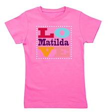 I Love Matilda Girl's Tee