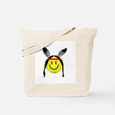 NDN smiley Tote Bag