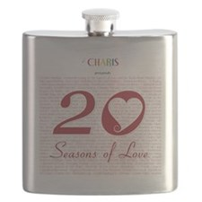 20 Seasons of Love Dark Flask