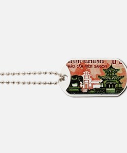 1964 Vietnam Saigon Zoo and Botanical Gar Dog Tags