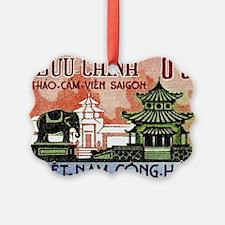 1964 Vietnam Saigon Zoo and Botan Ornament
