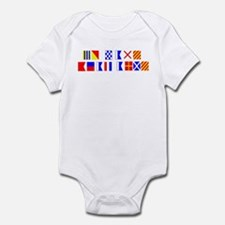 Go Navy Beat Army in Flags Infant Bodysuit