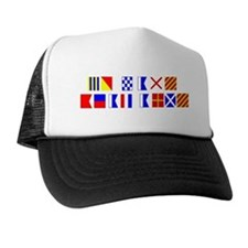 Go Navy Beat Army in Flags Trucker Hat