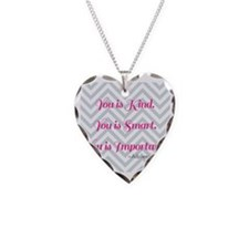 Aibileen Clark Quote Necklace
