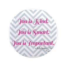"Aibileen Clark Quote 3.5"" Button"
