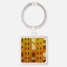 AA038005 Square Keychain