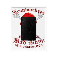Ironworkers Skull Hardhat, Cross Wre Picture Frame
