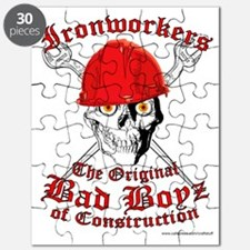 Ironworkers Skull Hardhat, Cross Wrenches! Puzzle