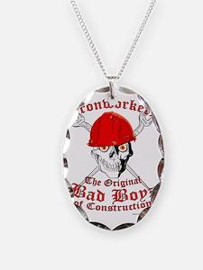 Ironworkers Skull Hardhat, Cro Necklace