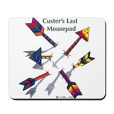 'Custer's Last Mousepad' Mousepad