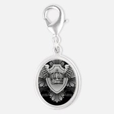 96418769 Silver Oval Charm