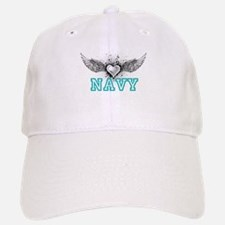 Navy + wings Baseball Baseball Cap
