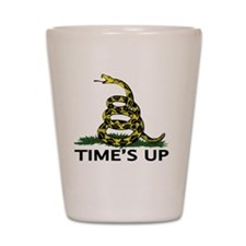 TIMES UP Shot Glass