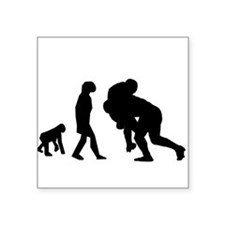 Rugby Tackle Evolution Sticker