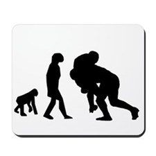 Rugby Tackle Evolution Mousepad
