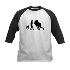 Rugby Tackle Evolution Baseball Jersey