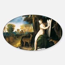 Dosso Dossi Circe and her Lovers Decal
