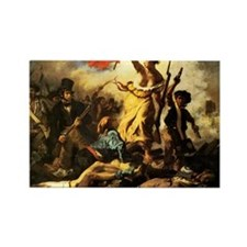 Eugene Delacroix Liberty Rectangle Magnet