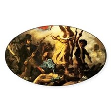 Eugene Delacroix Liberty Decal