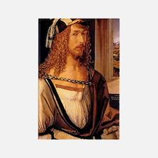 Albrecht Durer Self Portrait Rectangle Magnet