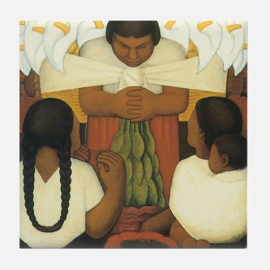 Diego Rivera Tile Coaster