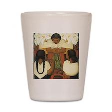 Diego Rivera Shot Glass
