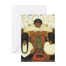 Diego Rivera Greeting Card