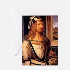 Albrecht Durer Self Portrait Greeting Card