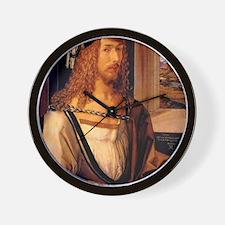 Albrecht Durer Self Portrait Wall Clock