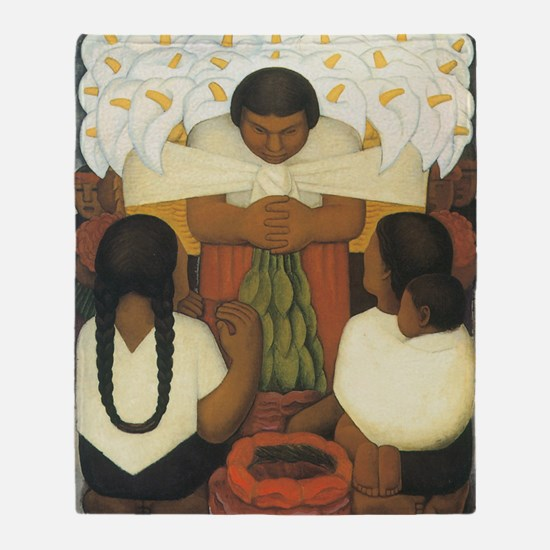 Diego Rivera Throw Blanket
