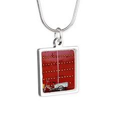 126292644 Silver Square Necklace