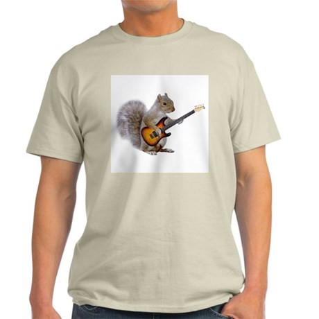 Squirrel Guitar Light T-Shirt