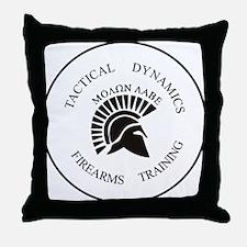 TacDynamics Shield Logo Throw Pillow