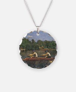 Thomas Eakins Biglin Brother Necklace