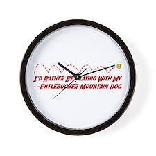 Entlebucher Play Wall Clock