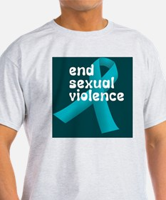 end sexual violence T-Shirt