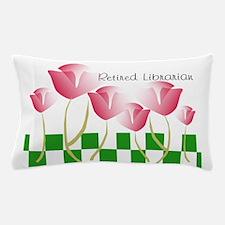 Retired Librarian Pillow 2 Pillow Case