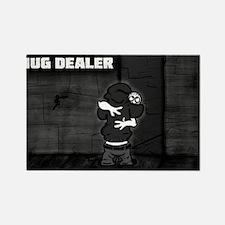 Hug Dealer Rectangle Magnet