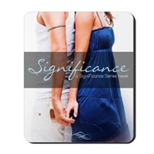 Significance cover Mousepad