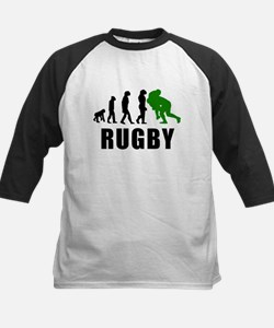 Rugby Tackle Evolution (Green) Baseball Jersey