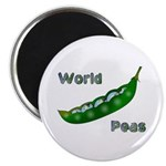 "World Peas 2.25"" Magnet (100 pack)"