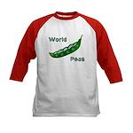 World Peas (2-Sided) Kids Baseball Jersey