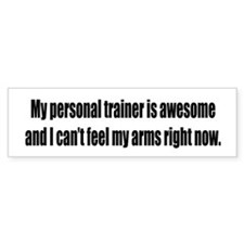Personal Trainer / Awesome Bumper Bumper Bumper Sticker