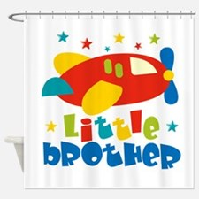 Little Brother - Plane Shower Curtain